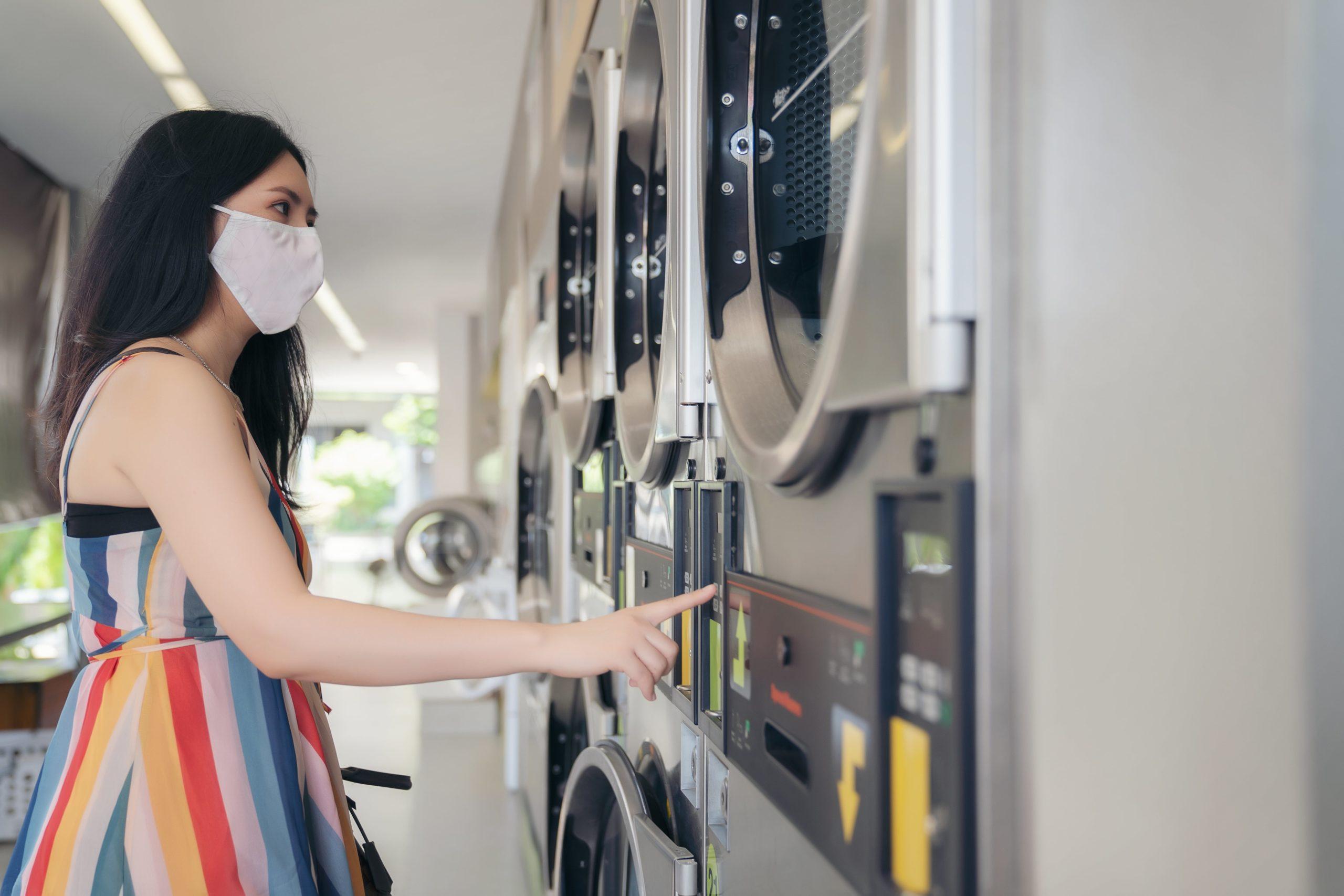 Couvre-feu: ouverture des laveries automatiques